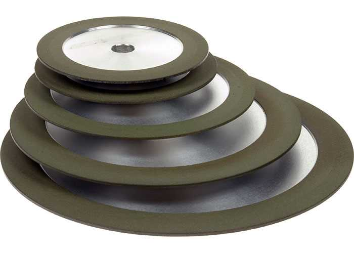 Diamond Grinding Wheels - 15° Tapered
