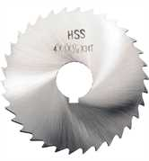 "4"" HSS Fine Tooth Slitting Saws"