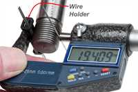 Thread Measuring Wire Set - In Use