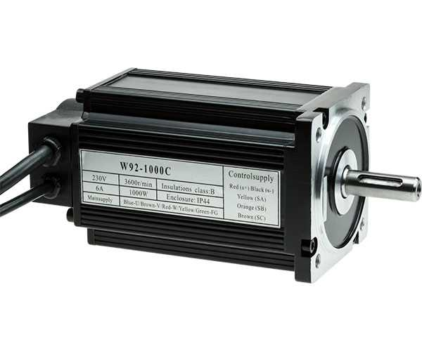 SC4-112 Brushless Motor 1000W/230V DC