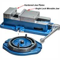 ARC Versatile Milling Vices - with swivel base - 100mm