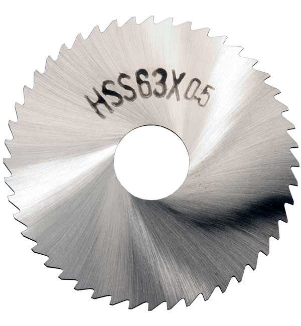 63mm HSS Fine Tooth Slitting Saws