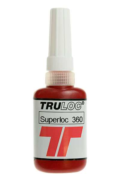 Truloc Superloc 360 High Strength Stud Lock 10ml