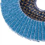 Zirconium Flap Discs - Close up