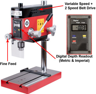 SIEG X0 Digital Micro Drill/Mill