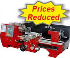 Lathe Prices Reduced