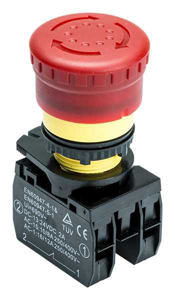 SX3.5.5A-41 Emergency Stop Switch