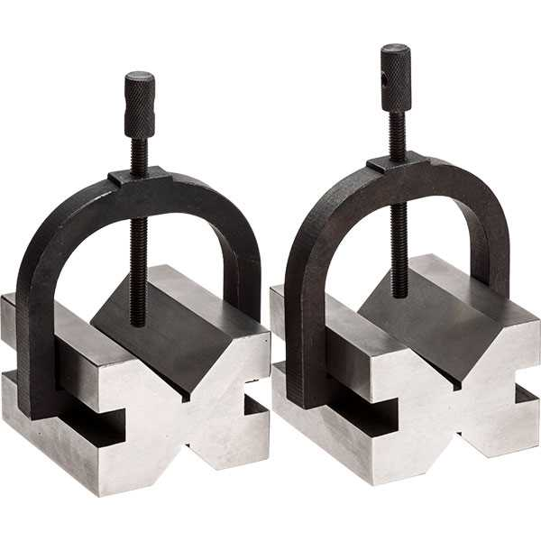 "Vee Block and Clamp Set 1.3/4""x2.1/2""x2.3/4"""