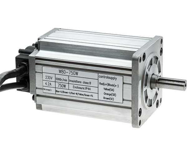 SX2.7.1-80 Brushless Motor 750W/230V DC