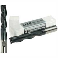 3 Flute HSS-AL End Mill - Long Series - TiAlN Coated