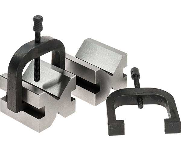 "Vee Block and Clamp Set 1.3/8""x1.5/8""x1.3/4"""