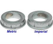 X1-108 Metric and Imperial Micrometer Dials