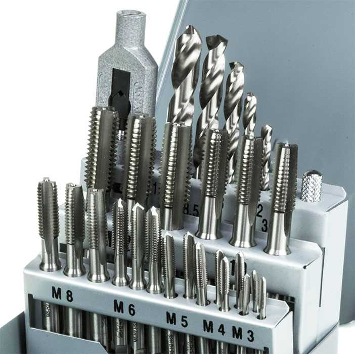 HSS Metric Drill & Tap Set  - 29pc - M3-M12