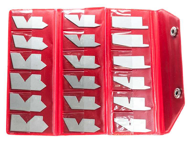 Angle Gauge Set - 18pc