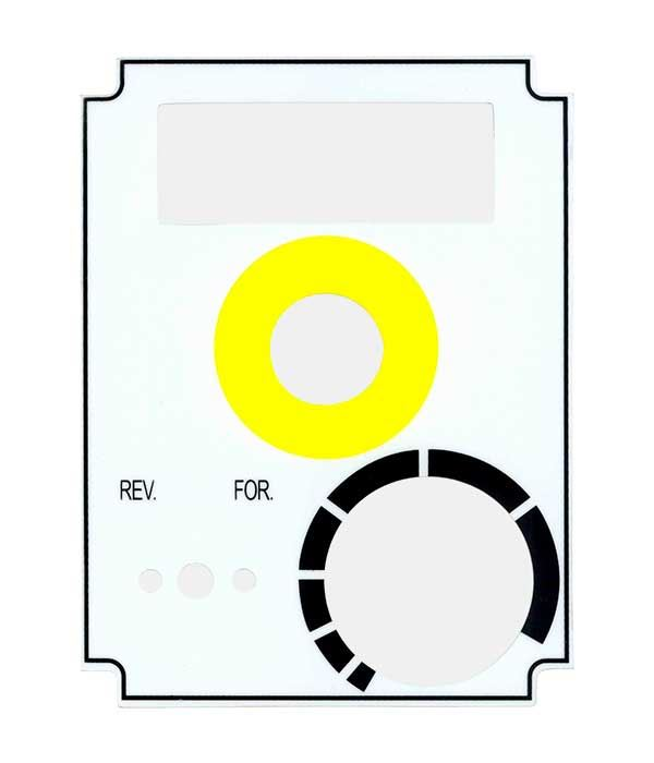 SX1LP-45 Switch Panel Label