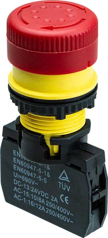 SX3-26-B Emergency Stop Switch
