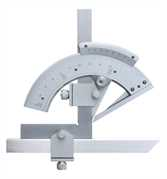 Precision Universal Vernier Protractor - Satin Chrome