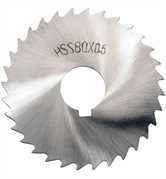 80mm HSS Fine Tooth Slitting Saws