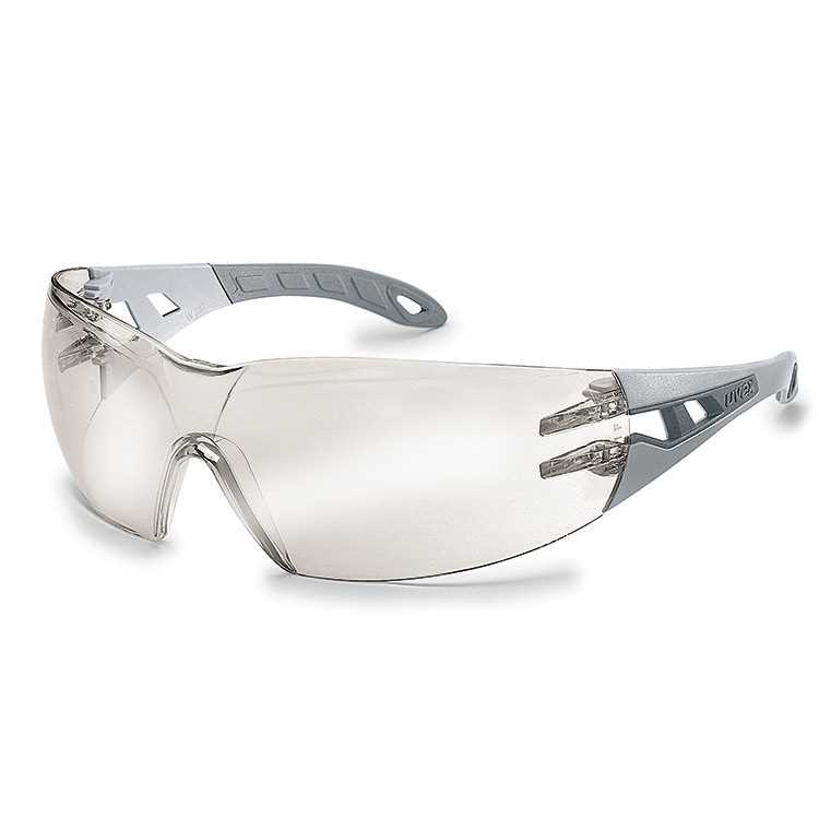 uvex pheos Anti-Fog Inside - Light Grey/Grey Frame - Silver Mirror Lens (U9192-881)