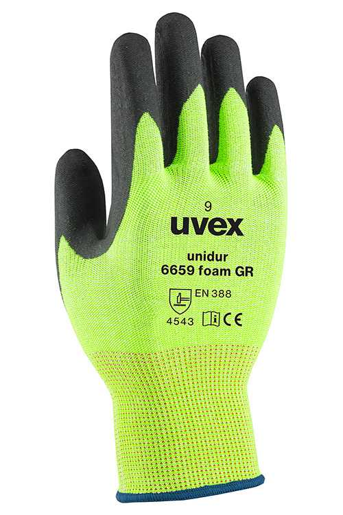 uvex unidur 6659 Foam GR Safety Gloves