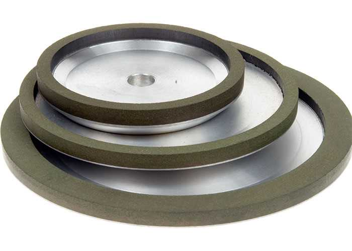 Diamond Grinding Wheels - 18° Dish