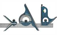 Precision Cast Iron Combination Square Set