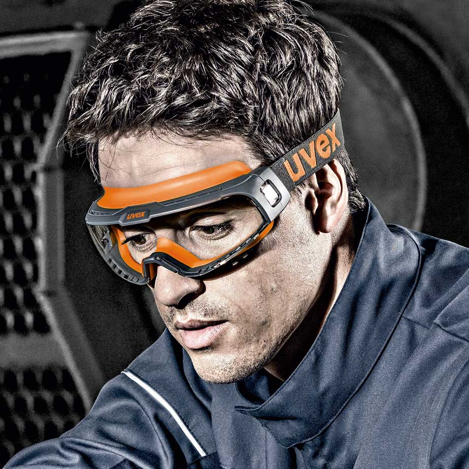uvex u-sonic – customised fit, very low weight and optimum internal goggle environment