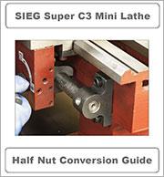 Half nut conversion guide