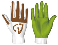 HexArmor Hex1 Series 2131 Work Gloves
