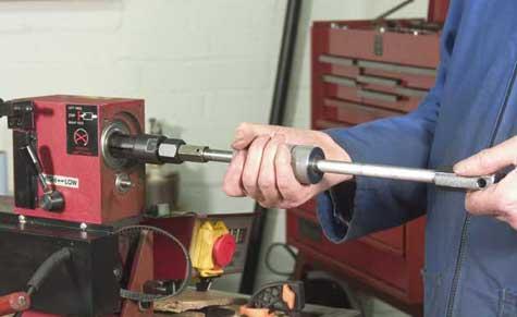 Extract rear bearing